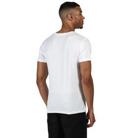 Regatta Cline IV Camiseta Hombre, white endless summer